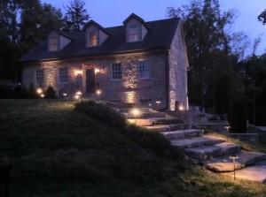 Led Lights on House